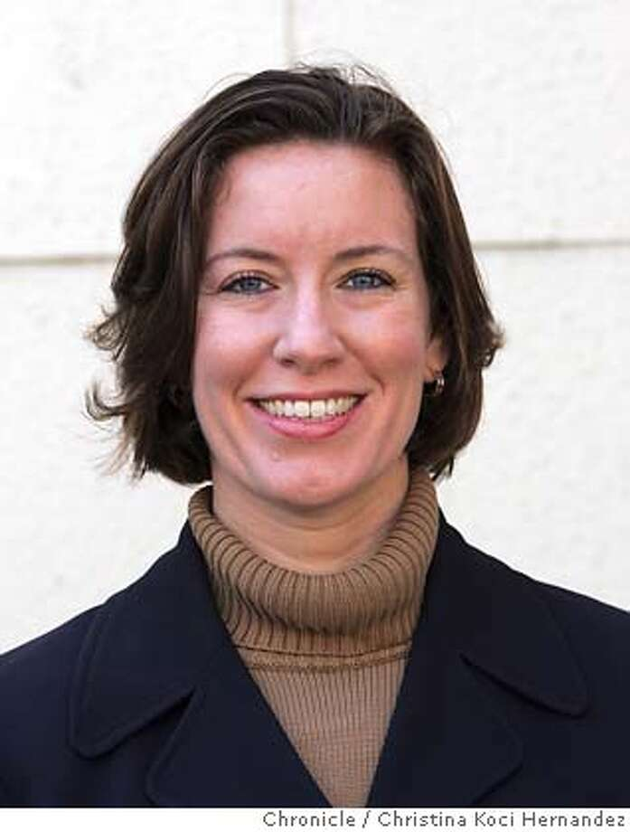 Jennifer DePalma, the Republican longshot candidate against Rep. Nancy Pelosi in the Eighth Congressional District. Please call and set up at your mutual convenience. .CHRISTINA KOCI HERNANDEZ/CHRONICLE Photo: CHRISTINA KOCI HERNANDEZ
