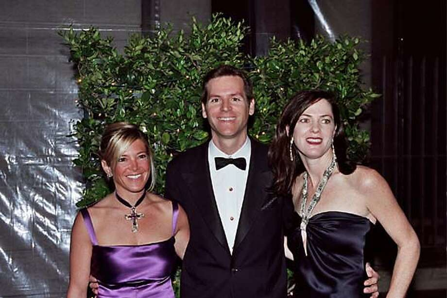 (L-R): Kathryn Lassater, Trevor Traina and Allison Speerat the Fine Arts Museums' Junior Committee Mid-Winter gala