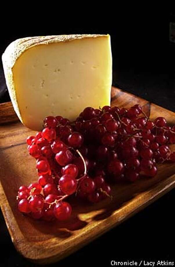 Rustic: The nutty saltiness of Ossau-Iraty cheese pairs nicely with the sweetness of fruit. Chronicle photo by Lacy Atkins
