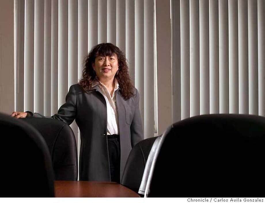Cecilia Chang, head of Justice for New Americans, became an activist only after family friend Wen Ho Lee � accused of downloading nuclear secrets � was thrown into jail. Now the former tech enterpreneur is expanding the organization to publicize other cases involving immigrants. Photo by Carlos Avila Gonzalez/The San Francisco Chronicle  Photo taken on 02/25/05, in Hayward, Ca. Photo: Carlos Avila Gonzalez SFChron