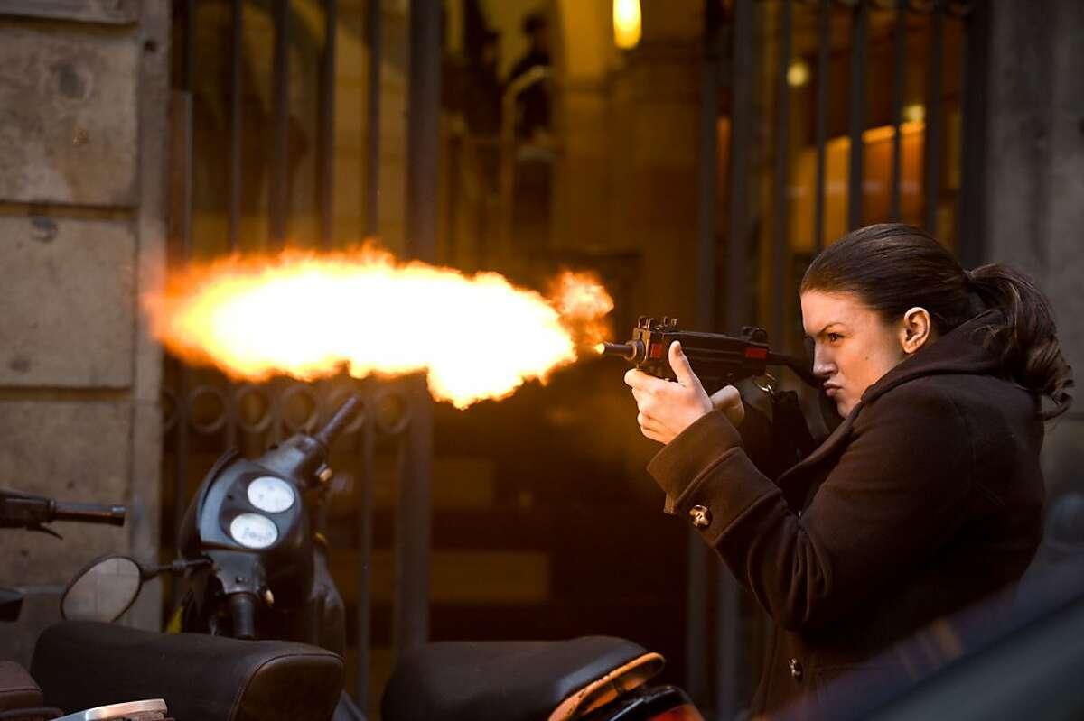 M 090 Gina Carano stars in Relativity Media?•s HAYWIRE.