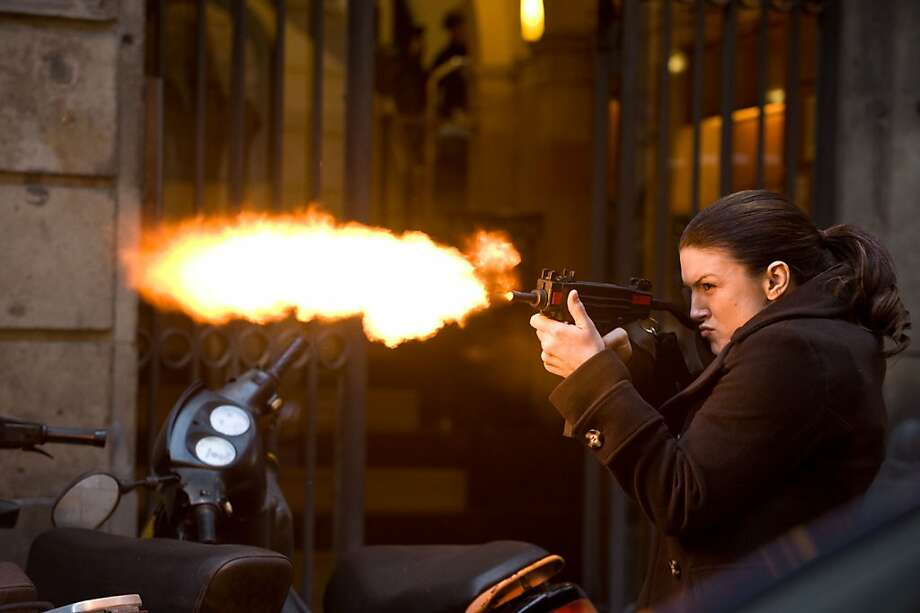M 090 Gina Carano stars in Relativity MediaÕs HAYWIRE. Photo: Claudette Barius, Relativity Media