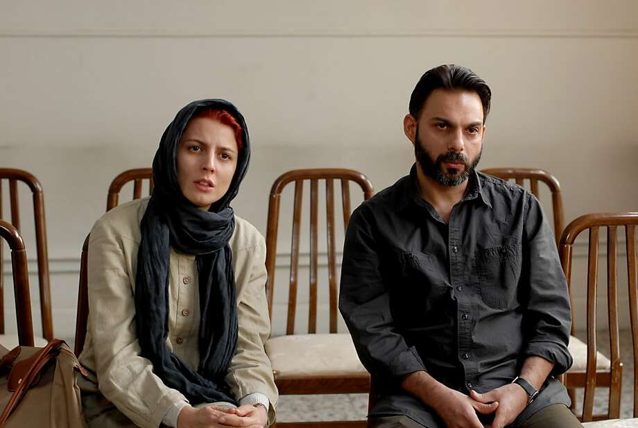 "Left to Right: Leila Hatami as Simin and Peyman Moadi as Nader in, ""A Separation."" Photo: Habib Madjidi, Sony Pictures Classics"