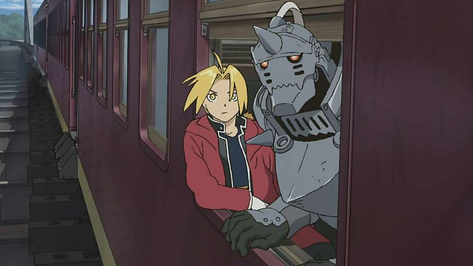 "Edward Elric & Alphonse Elric appear in a scene in, ""Fullmetal Alchemist: The Sacred Star of Milos."" Photo: Hiromu Arakawa, FUNimation"