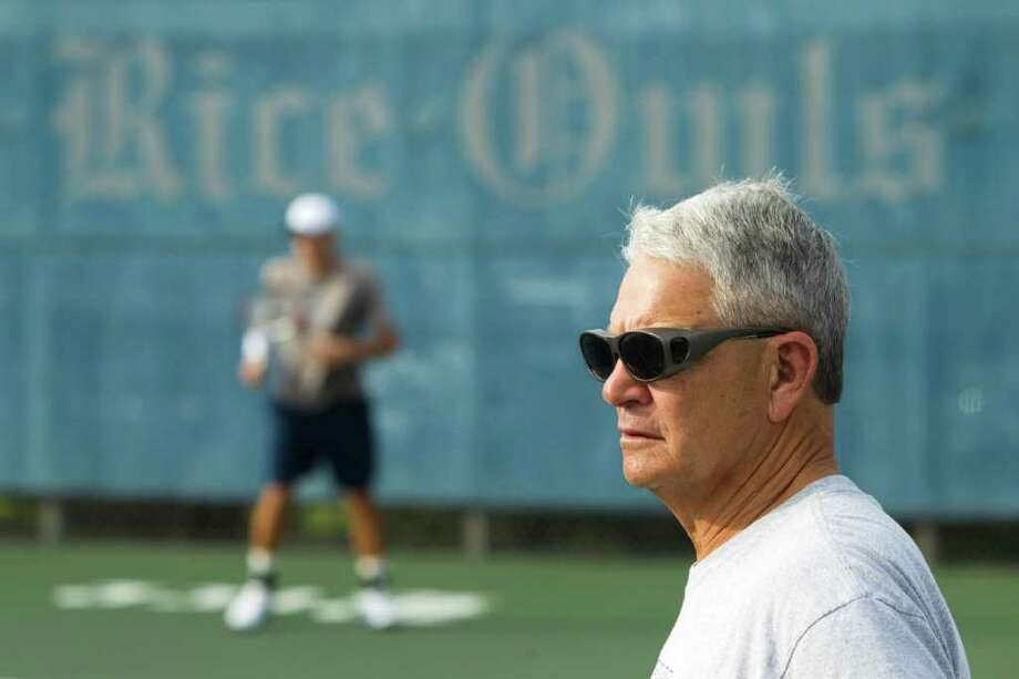 Coach Ron Smarr will retire after 41 years, the last 14 at Rice, when the spring season ends. Photo: Brett Coomer / © 2012 Houston Chronicle