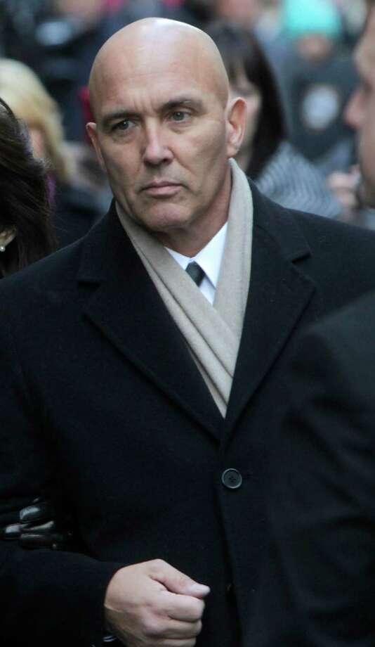 Michael Borcina, who escaped the fatal Christmas fire in Stamford, has a trail of legal judgments and pending lawsuits over disputes from past contracting jobs, according to court files. (AP Photo/Seth Wenig) Photo: Seth Wenig, Associated Press / AP