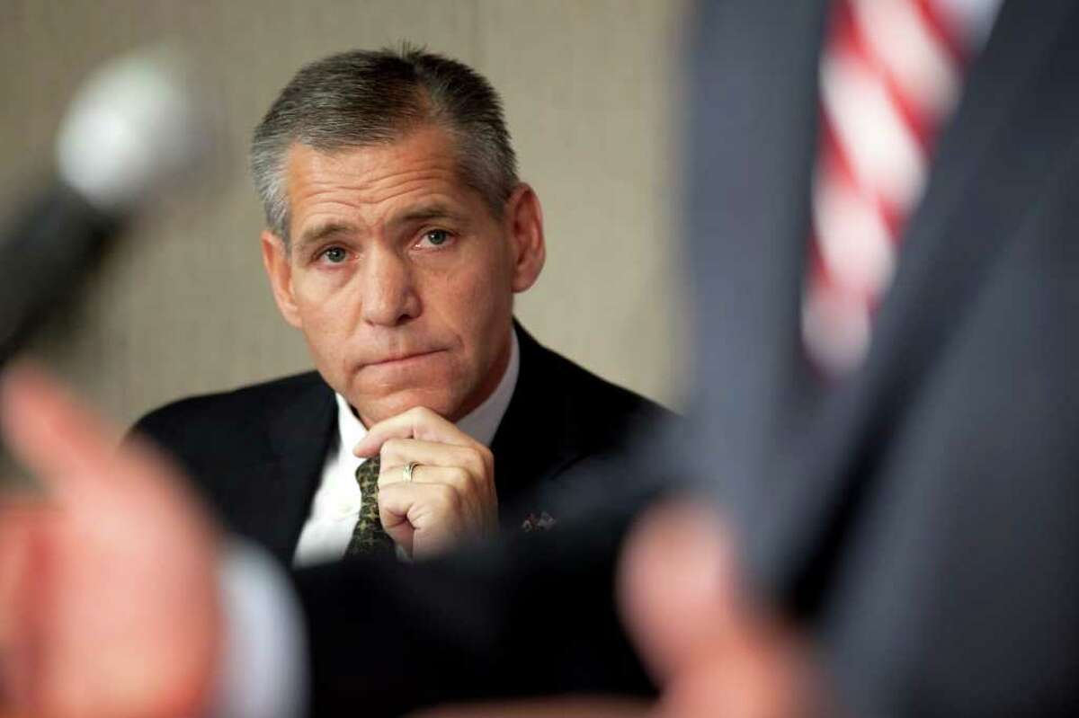 TransCanada CEO Russ Girling said he hopes the State Department will expedite approval of a new application.