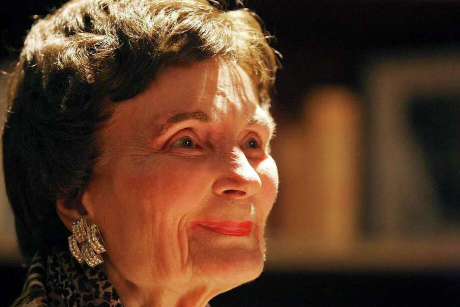 Former Mayor Lila Cockrell during her 90th birthday reception on Jan. 19. Photo: San Antonio Express-News, Edward A. Ornelas / SAN ANTONIO EXPRESS-NEWS (NFS)