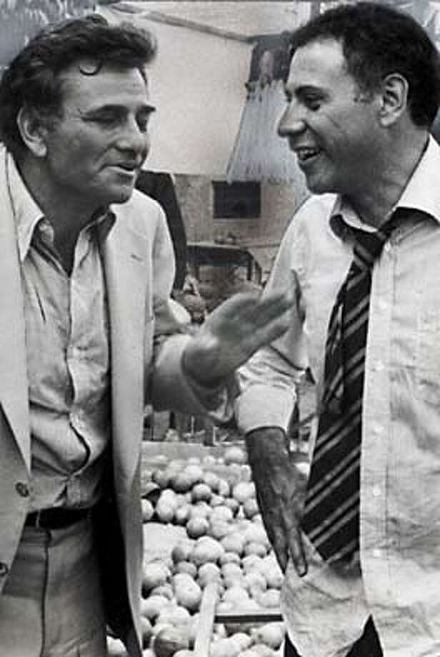 "Peter Falk and Alan Arkin in the classic 1979 film ""The In-Laws."""