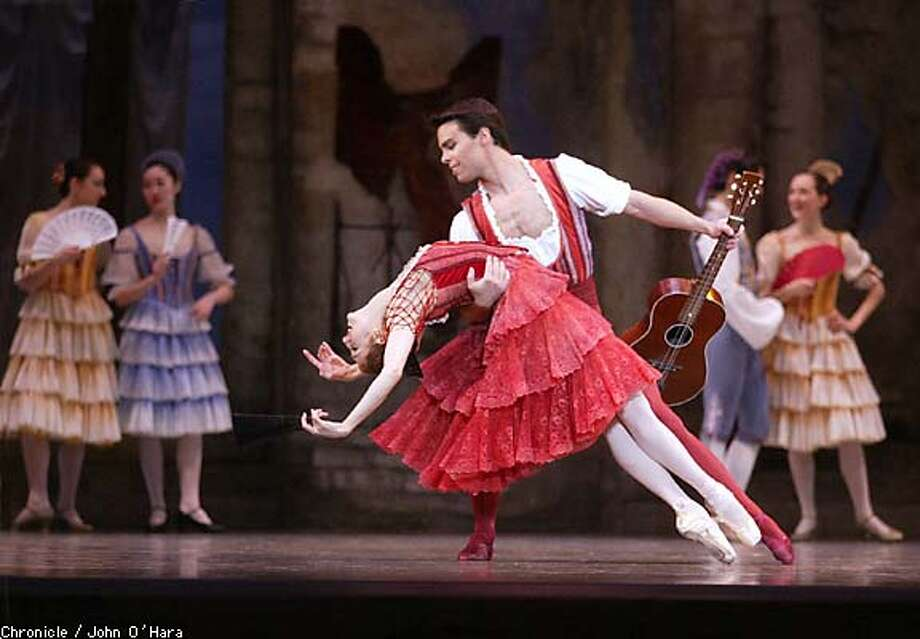 "The San Francisco Ballet's ""Don Quixote,"" with Lorena Feijoo and Joan Boada. Chronicle photo by John O'Hara"