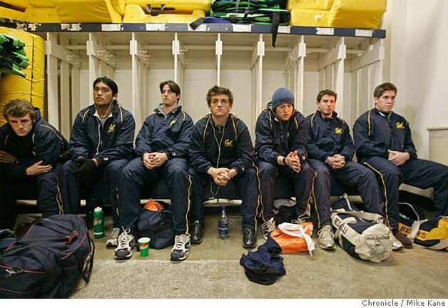 University of California Golden Bears rugby team await their coach before taking the field to play St. Mary's at Witting Rugby Field in Berkeley on Saturday, January, 13, 2007. photo taken: 1/13/07  Mike Kane / The Chronicle ** Photo: MIKE KANE