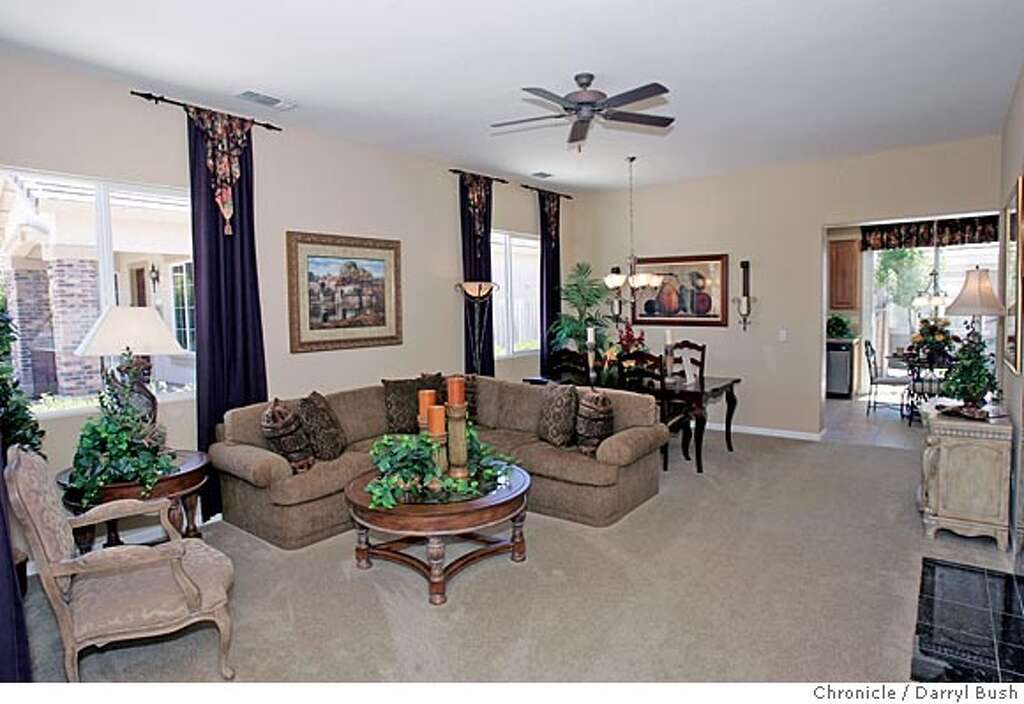 Model Home Living Room model home: suisun city, peterson ranch / home is where the ranch