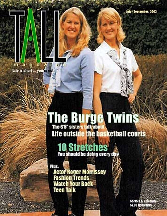 EBTALL30.jpg / Friday  An East Bay man has started a magazine for women over 5-foot-10 and as much as 6-foot-2 /