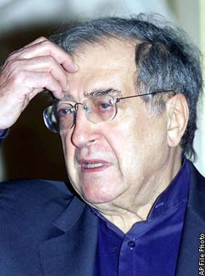** FILE ** Luciano Berio ponders a question during a meeting at the Milan's La Scala theater in this Tuesday, Feb. 29, 2000 file photo. Luciano Berio, 77, considered Italy's foremost music composer of the late 20th century, died Tuesday, May 27, in a Rome hospital. Lalla Brau, a spokeswoman for the National Academy of St. Cecilia in Rome, a prestigious classical music venue, said Berio was admitted to Gemelli Polyclinic hospital on Monday. He had recently been treated in another hospital for a spinal problem, but Brau said she didn't know the cause of death. (AP Photo/Luca Bruno) Photo: LUCA BRUNO