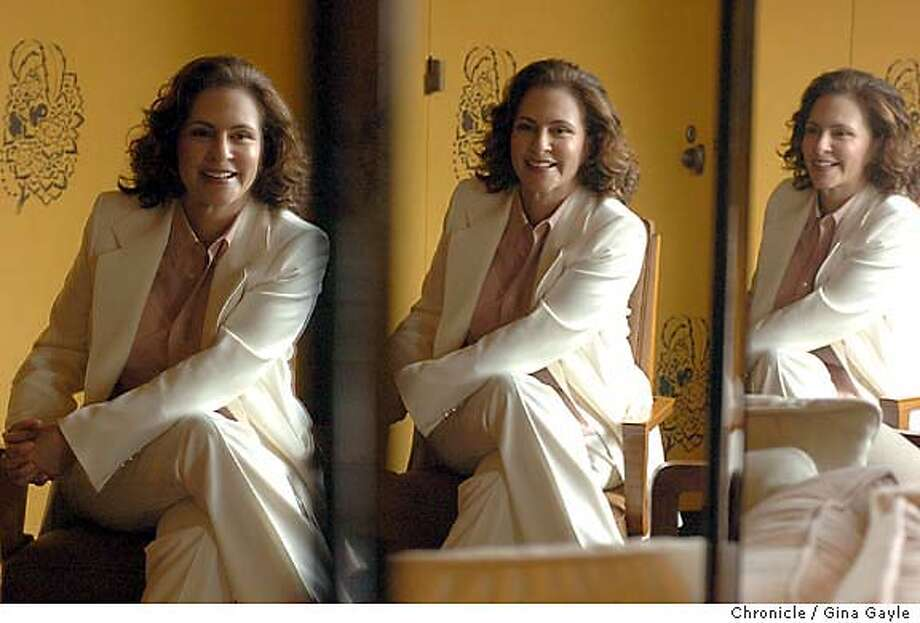 "Dr. Peggy Drexler, author of the book ""Raising Boys Without Men"", sits in her Fifth Avenue office in New York City on Friday, August 19, 2005. (Photo/Gina Gayle)  SLUG: Photo: GINA GAYLE"