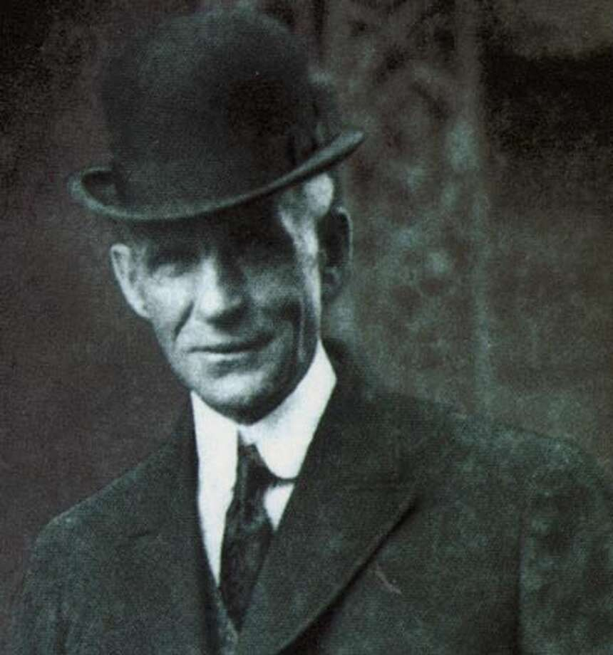 "Henry Ford from book cover ""the People's Tycoon"""