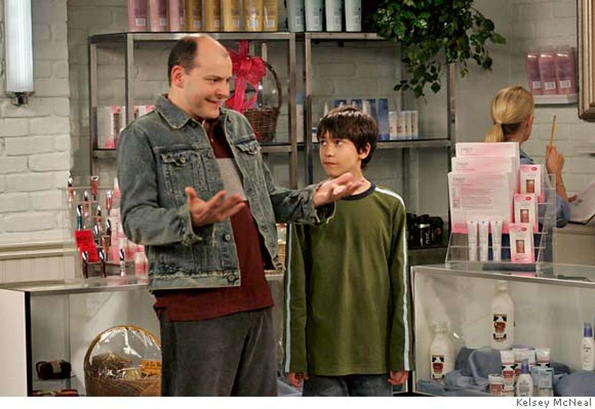 This undated photo, provided by Fox TV, shows actors Rob Corddry, left, and Keir Gilchrist in an episode of the new Fox sitcom