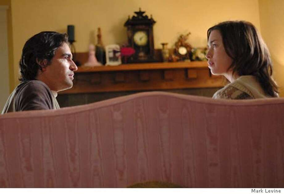 "Ben Chaplin and Julianne Nicholson in ""Two Weeks"" Photo Credit: Mark Levine (c) 2006 Two Weeks, LLC. All Rights Reserved. Photo: Mark Levine"