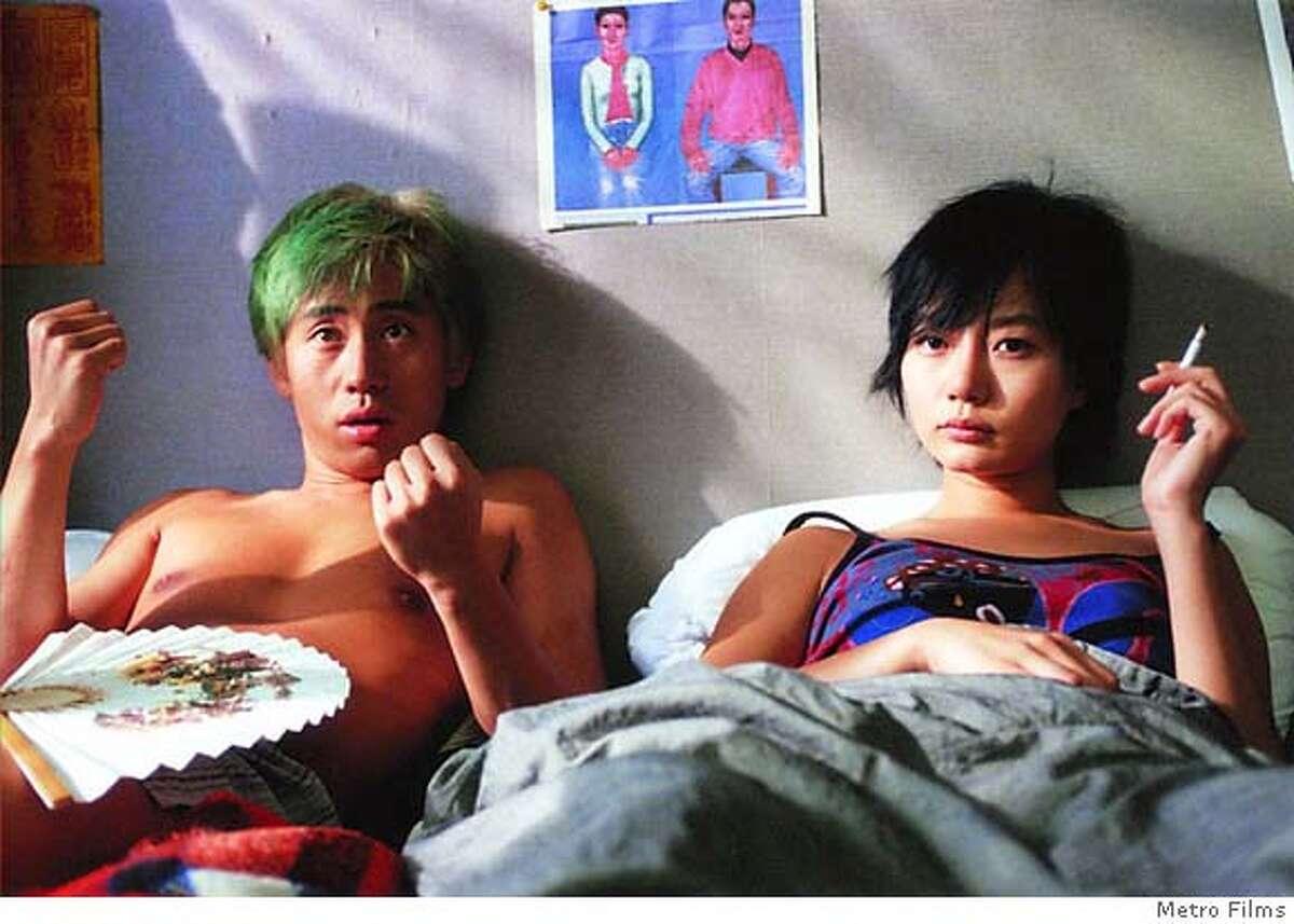 SYMPATHY26 Shin Ha-kyun and Du-na Bae in Tartan Films' Sympathy for Mr. Vengeance - 2005