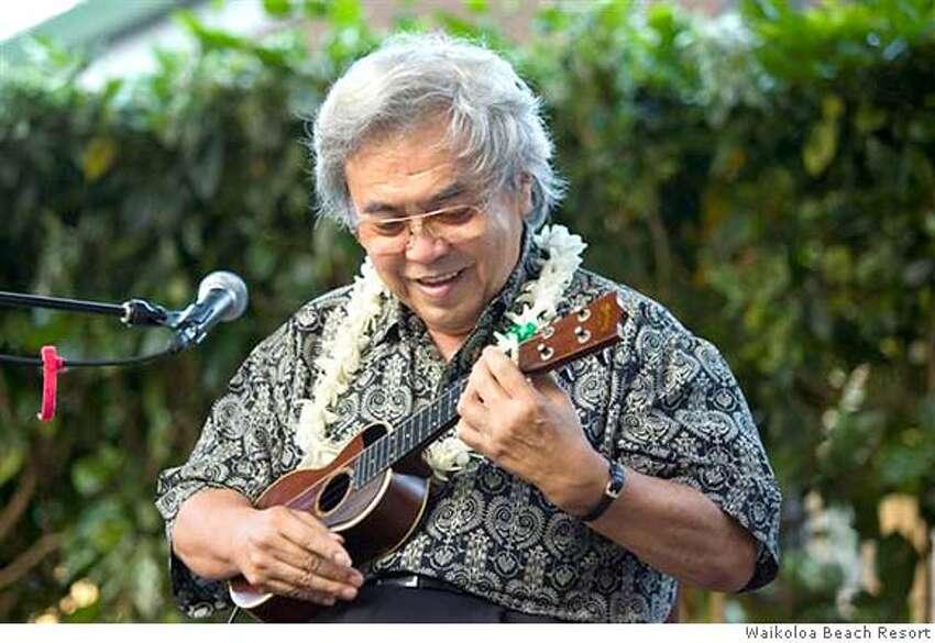 �TRAVEL HAWAII CALLS -- Ukulule master Ohta-San will headline a ukulele festival on the Big Island March 10, 2007. Credit: Courtesy Waikoloa Beach Resort