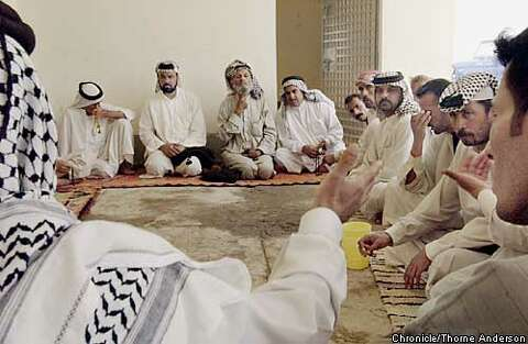 Uprooted Arabs call prison home / Banished townsfolk hold no