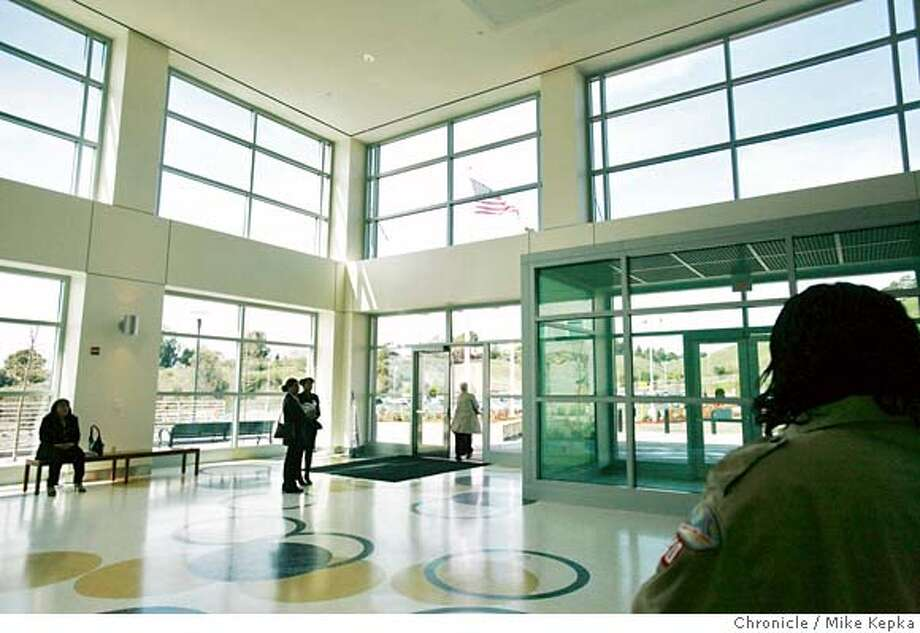 Juviehall2800235_mk.JPG Large Windows Illuminate A Grand Entry Way To The  New Juvenile Hall.