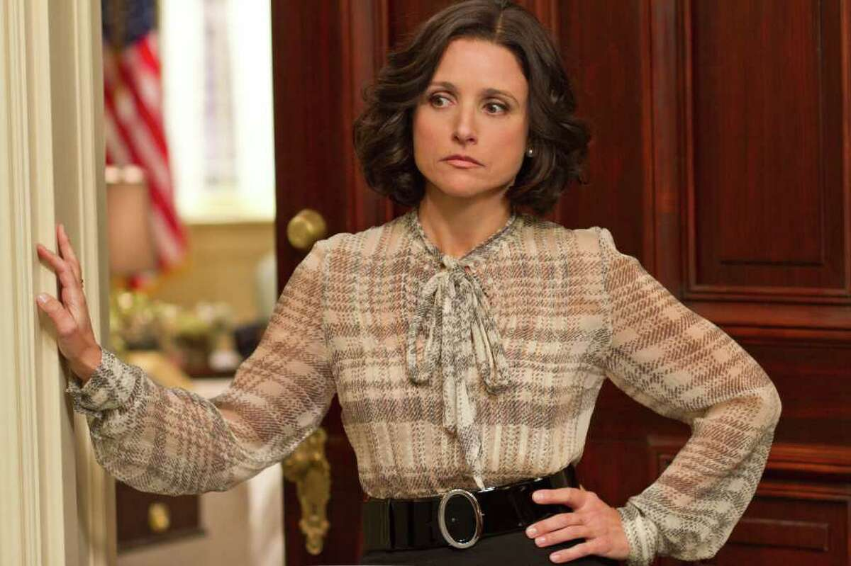 """""""I was interested not in the grandeur of it, because you can always get that, but the nitty-gritty of it,"""" Julia Louis-Dreyfus says of the vice presidency."""