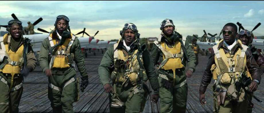 The story of the first all-black U.S. Army Air Corps fighter group is told in the new film Red Tails. / © Lucasfilm Ltd. and TM. All Rights Reserved.