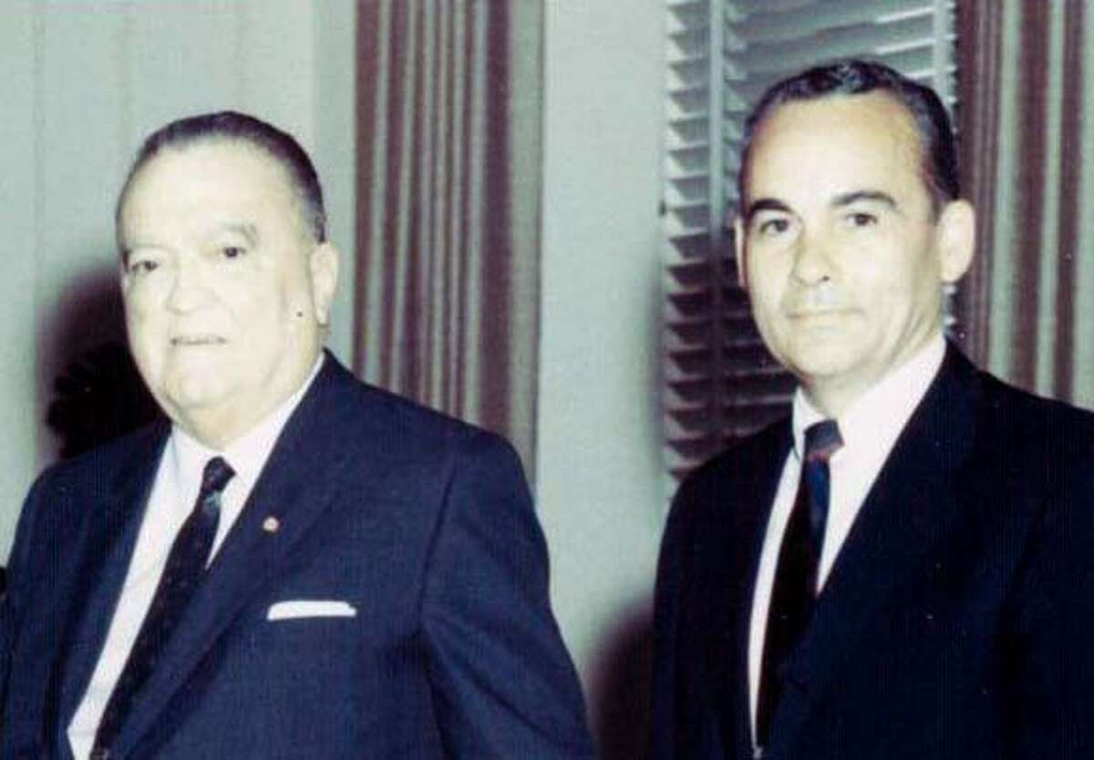 Third of three Threadgill fotos - Hoover and Threadgill. Photo: Courtesy of the family