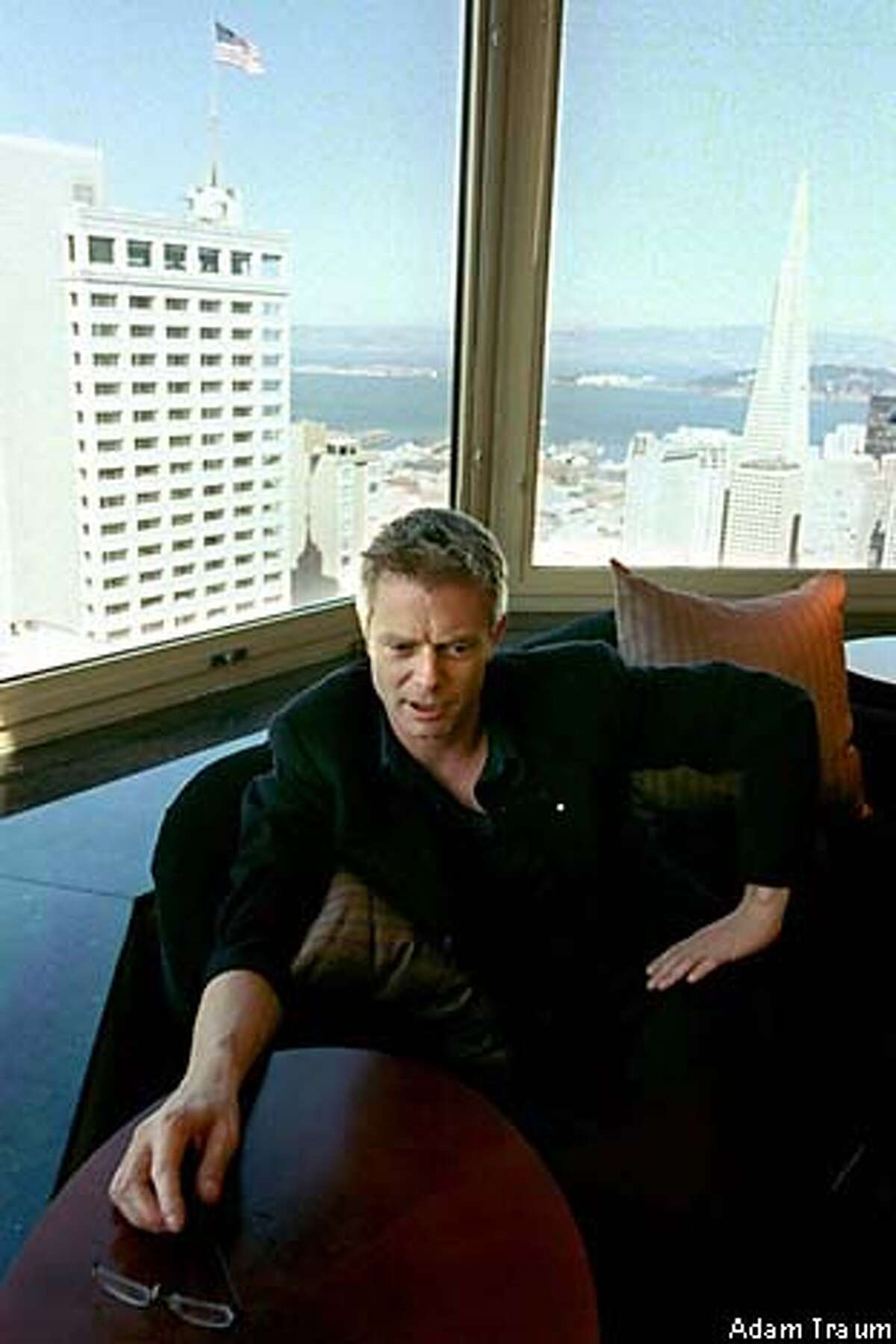 """""""The Hours"""" director Stephen Daldry: difficult work on the script. Chronicle photo, 2000, by Adam Traum"""