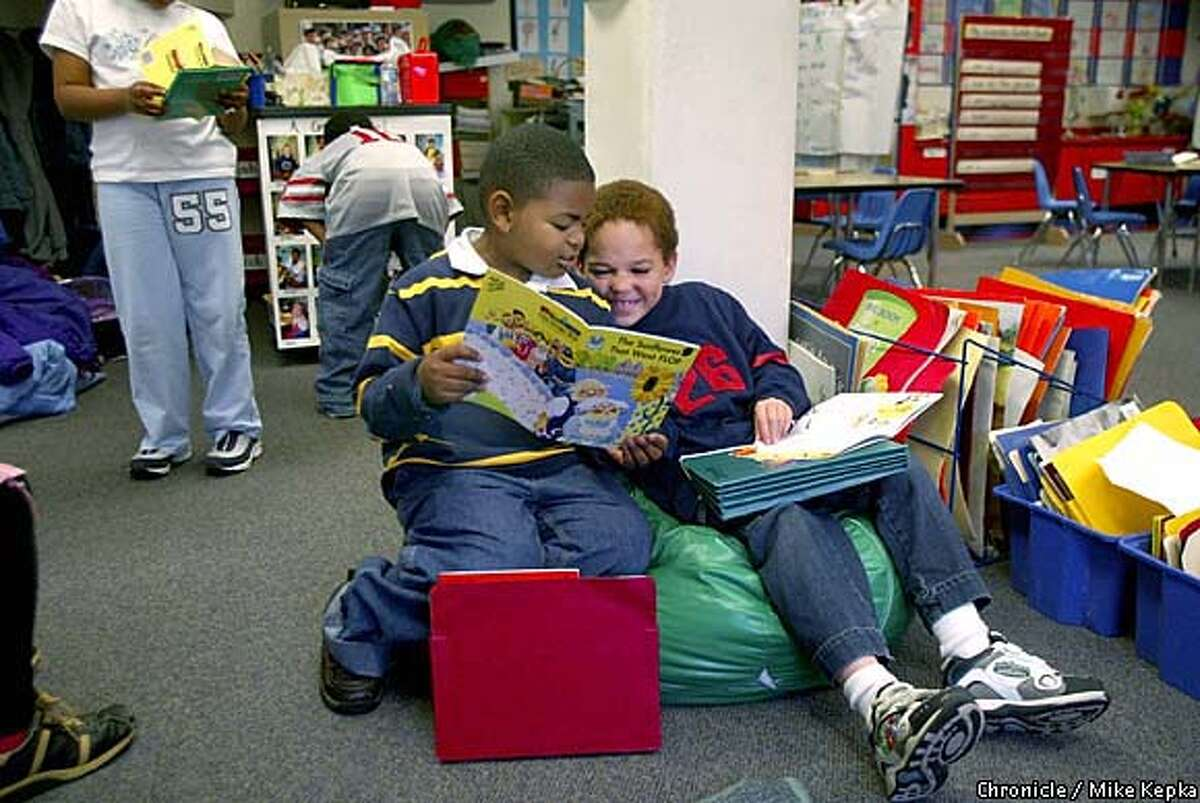642B0054.JPG Oakland parents come together to make their neighborhood public school, Peralta elementary school a better place to for their kids. 4/29/03 in Oakland. MIKE KEPKA / The Chronicle