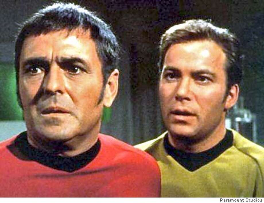 SCOTTY23 Scotty (James Doohan) in Star Trek. Paramount Studios