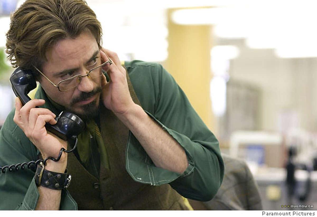 """Robert Downey Jr. in """"Zodiac"""" 2007"""