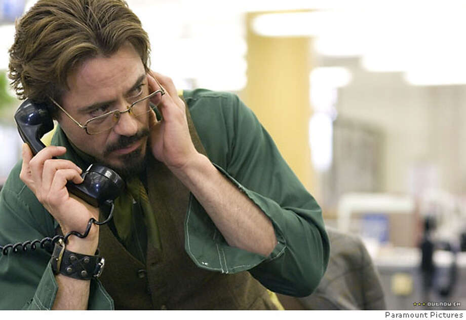 "Robert Downey Jr. in ""Zodiac"" 2007 Photo: Paramount"
