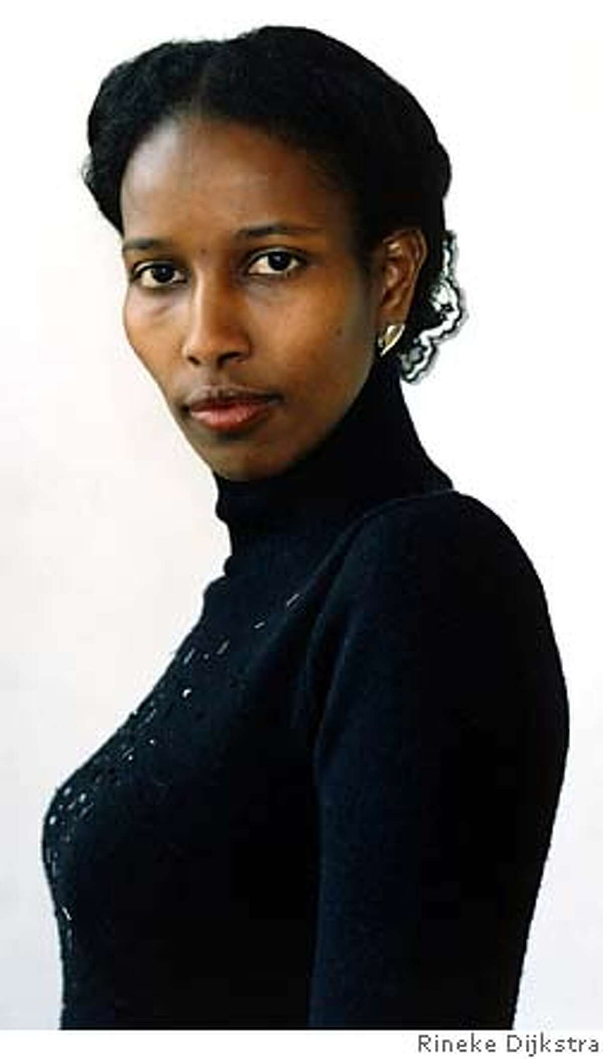"""Ayaan Hirsi Ali, author of """"Infidel"""" FOR USE WITH BOOK REVIEW ONLY"""