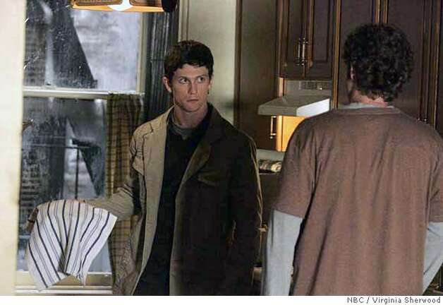 "THE BLACK DONNELLY'S -- ""Lies"" Episode 105 -- Pictured: (l-r) Jonathan Tucker as Tommy Donnelly, Billy Lush as Kevin Donnelly -- NBC Photo: Virginia Sherwood FOR EDITORIAL USE ONLY -- DO NOT ARCHIVE -- NOT FOR RESALE Photo: Virginia Sherwood"
