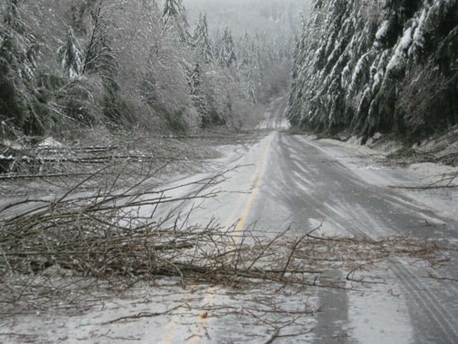 State Route 18 near Tiger Mountain. Photo by Washington Transportation Department.