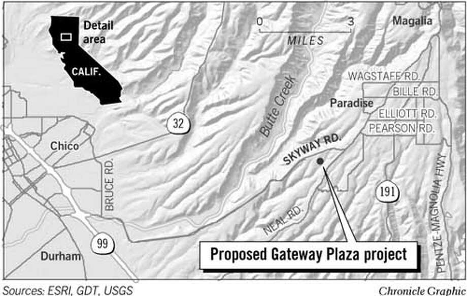 Proposed Gateway Plaza Project. Chronicle Graphic
