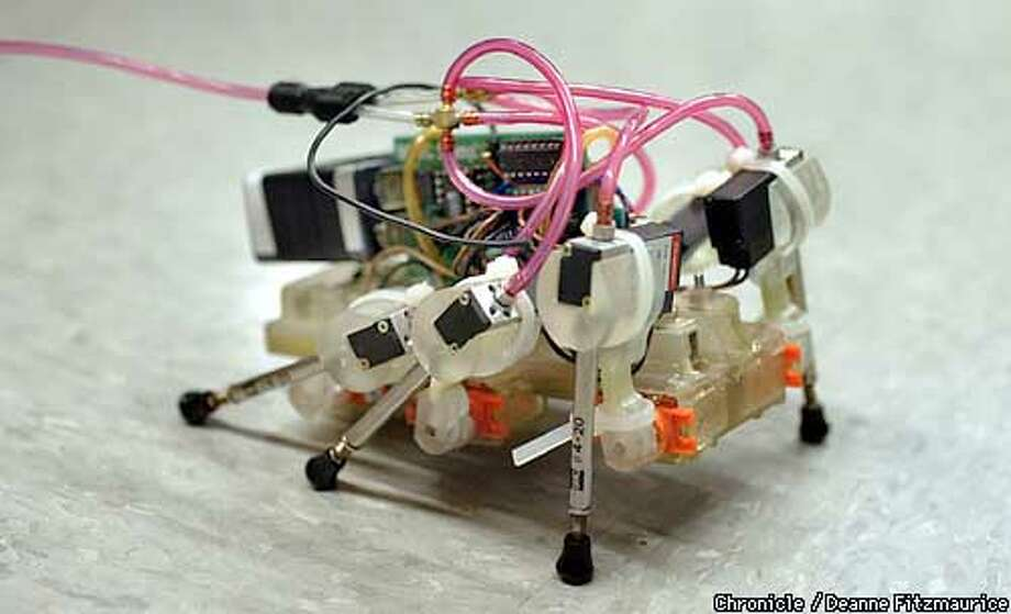 Roaches today, robots tomorrow / Stanford team's models mimic