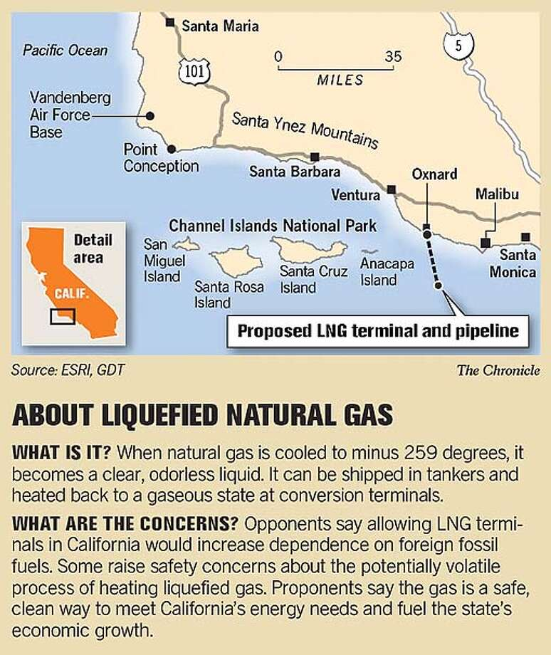 About Liquified Natural Gas. Chronicle Graphic
