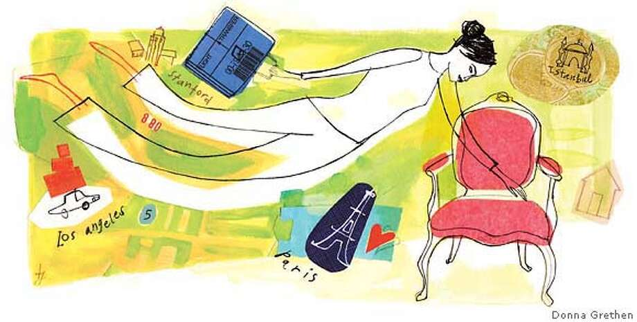 Out of Place but at Home. Or how we adapt to inherited icons (Illustration by Donna Grethen)
