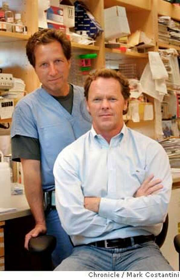 Need photos of the Coronet Theater and the parking lot next to it, which will be turned in to senior housing.  Dr. David Jablons and financial donner Jeff Peterson MUST DO ONE OF THE SUBJECTS IS DRIVING QUITE A DISTANCE TO BE SHOT. Dr. David Jablons of UCSF and Jeff Peterson are working together to solve the Mesethelioma cancer that killed peterson's wife age 42. Peterson funds the research, and will be driving up from Aptosto meet with Jablons. KW NOTE: we need a shot of dr. Jablons and Peterson together...at work or portrait whateve works, need the doctor at wrk and ANY shots that illustrate the cancer....xrays, petrie dish of cancer cells, through the microscope...whatever you can find to illustrate the cancer. For new co.lum on Medical Breakthroughs Photograph by Mark Costantini/S.F. Chronicle. Photo: Mark Costantini
