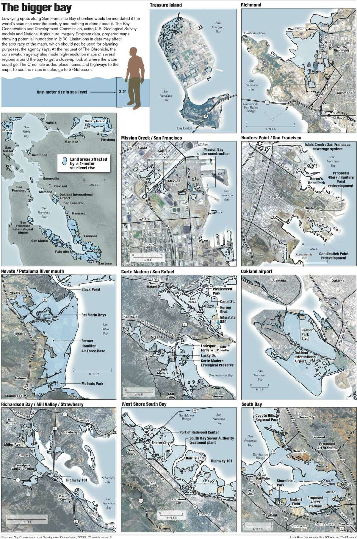 The Bigger Bay. Chronicle graphic by John Blanchard and Gus D'Angelo
