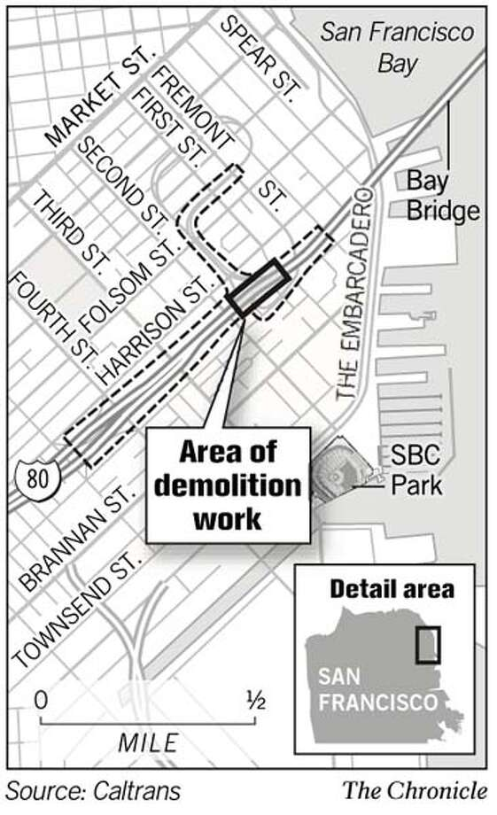 Area of Demolition