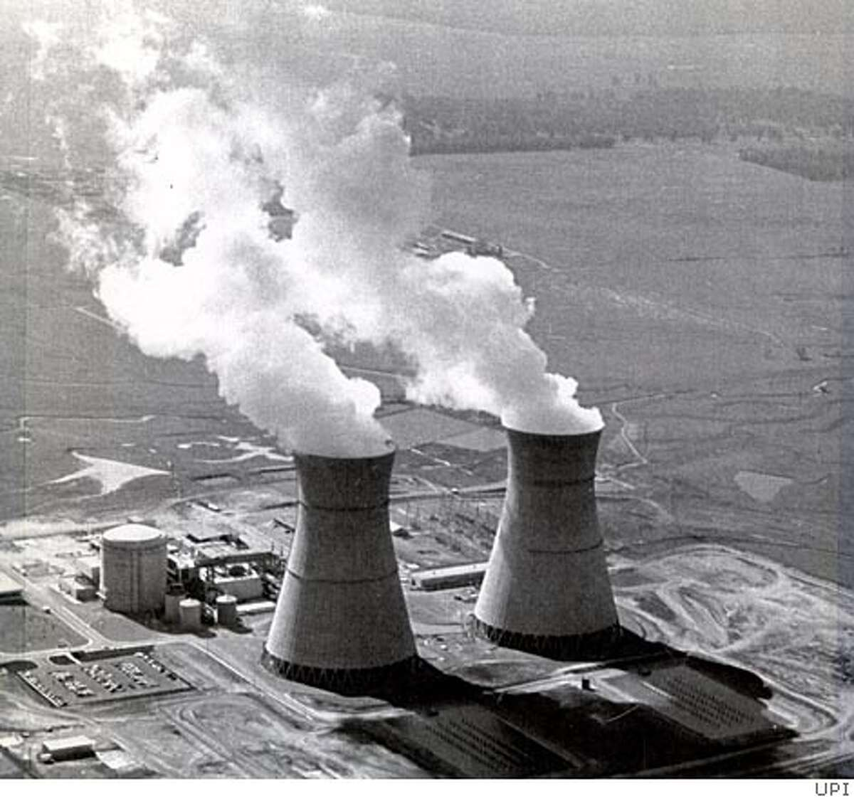 Sacramento -- A boiler room explosion in a non-nuclear area of the Rancho Seco nuclear power plant injured two utility workers June 12, 1984. Plant officials said the injured were burned by the explosion of non-nuclear steam, which contained caustic material.