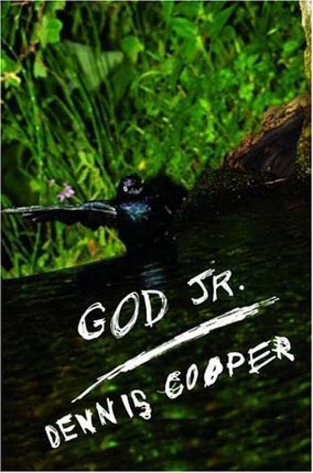 "Book cover art for, ""God Jr."" by Dennis Cooper."