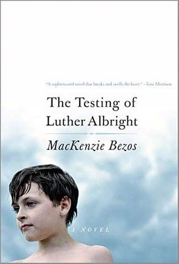 "Book cover art for, ""The Testing of Luther Albright"" by MacKenzie Bezos."
