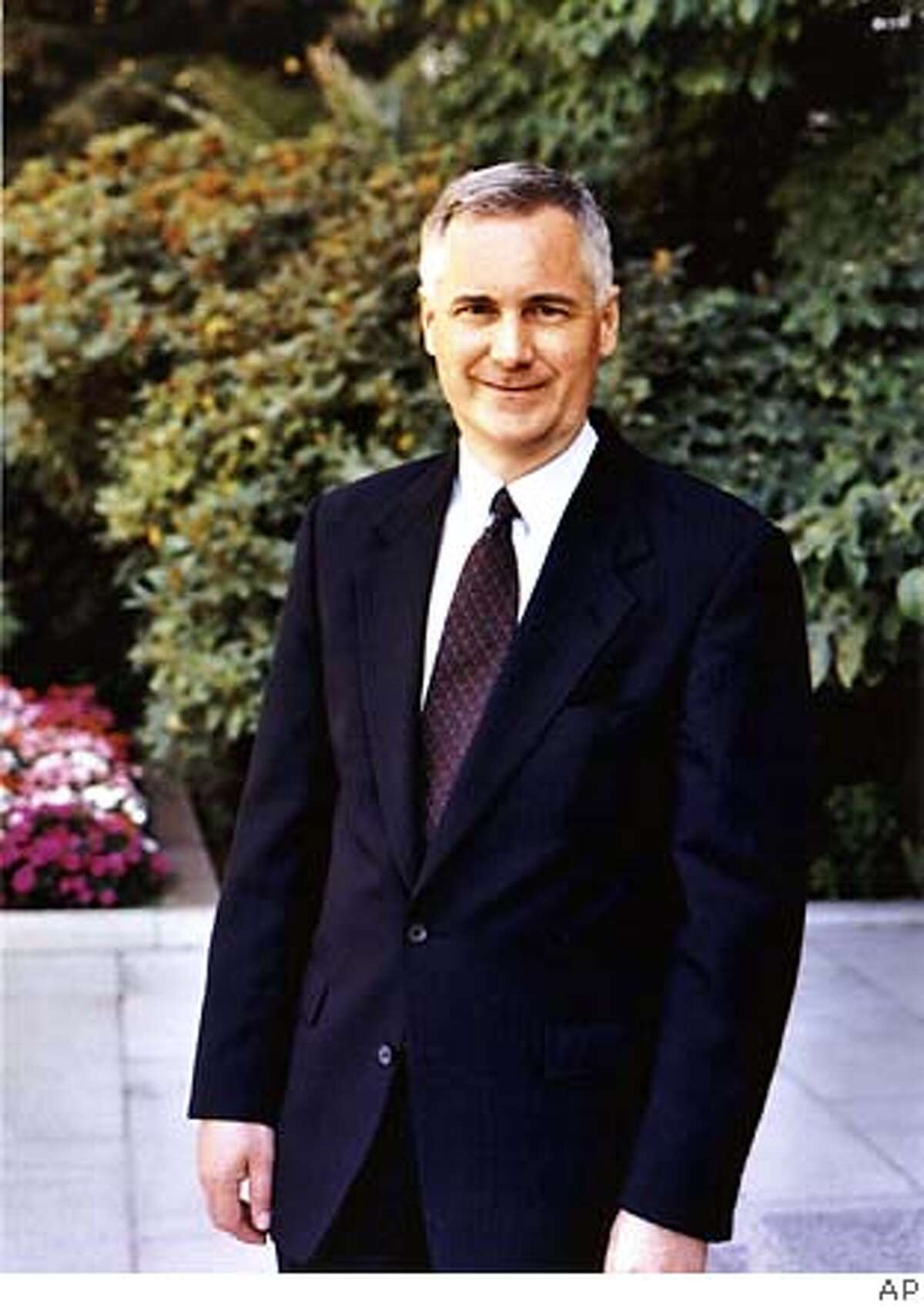 ** ADVANCE FOR USE ANYTIME ** State Sen. Tom McClintock, R-Northridge, seen in undate photo, is running unopposed for the Republican nomination for lieutenant governor in the June primary. McClintock will face the winner of the Democratic primary, either state Sen. Jackie Speier, D-Daly City, state Sen. Liz Figueroa, of Sunol, or Insurance Commissioner John Garamendi. (AP Photo/McClintock for Lieutenant Governor) ** ** Ran on: 05-26-2006 Ran on: 05-28-2006 Ran on: 06-07-2006 Ran on: 10-18-2006 ALSO Ran on: 10-24-2006 Ran on: 10-25-2006 John Garamendi ALSO Ran on: 10-25-2006 ALSO Ran on: 10-29-2006 ALSO Ran on: 11-04-2006 John Garamendi John Garamendi Ran on: 11-08-2006 Democrat John Garamendi (right) chats with Rep. Doris Matsui, D-Sacramento, in Sacramento. Ran on: 11-08-2006 Democrat John Garamendi (right) chats with Rep. Doris Matsui, D-Sacramento, in Sacramento. ADVANCE FOR USE ANYTIME, UNDATED PHOTO PROVIDED BY MCCLINTOCK FOR LIEUTENANT GOVERNOR,