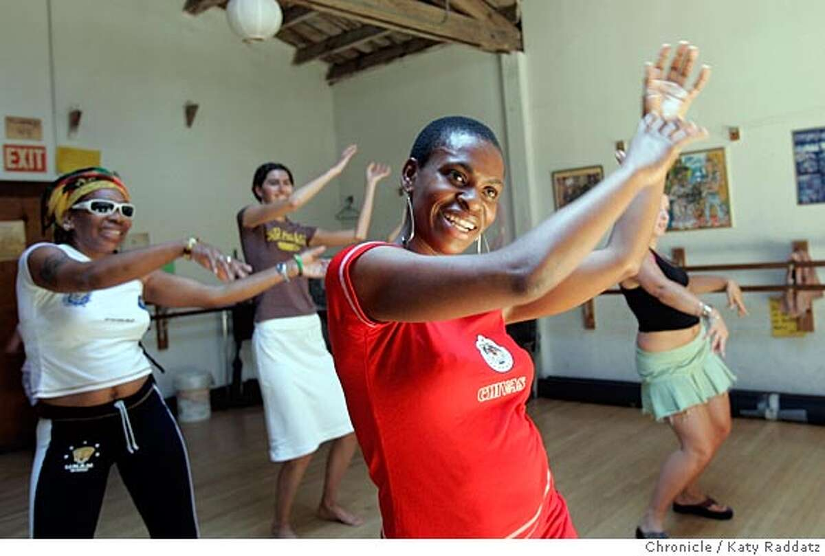 Alreca (cq) Smith teaches an exercise class called