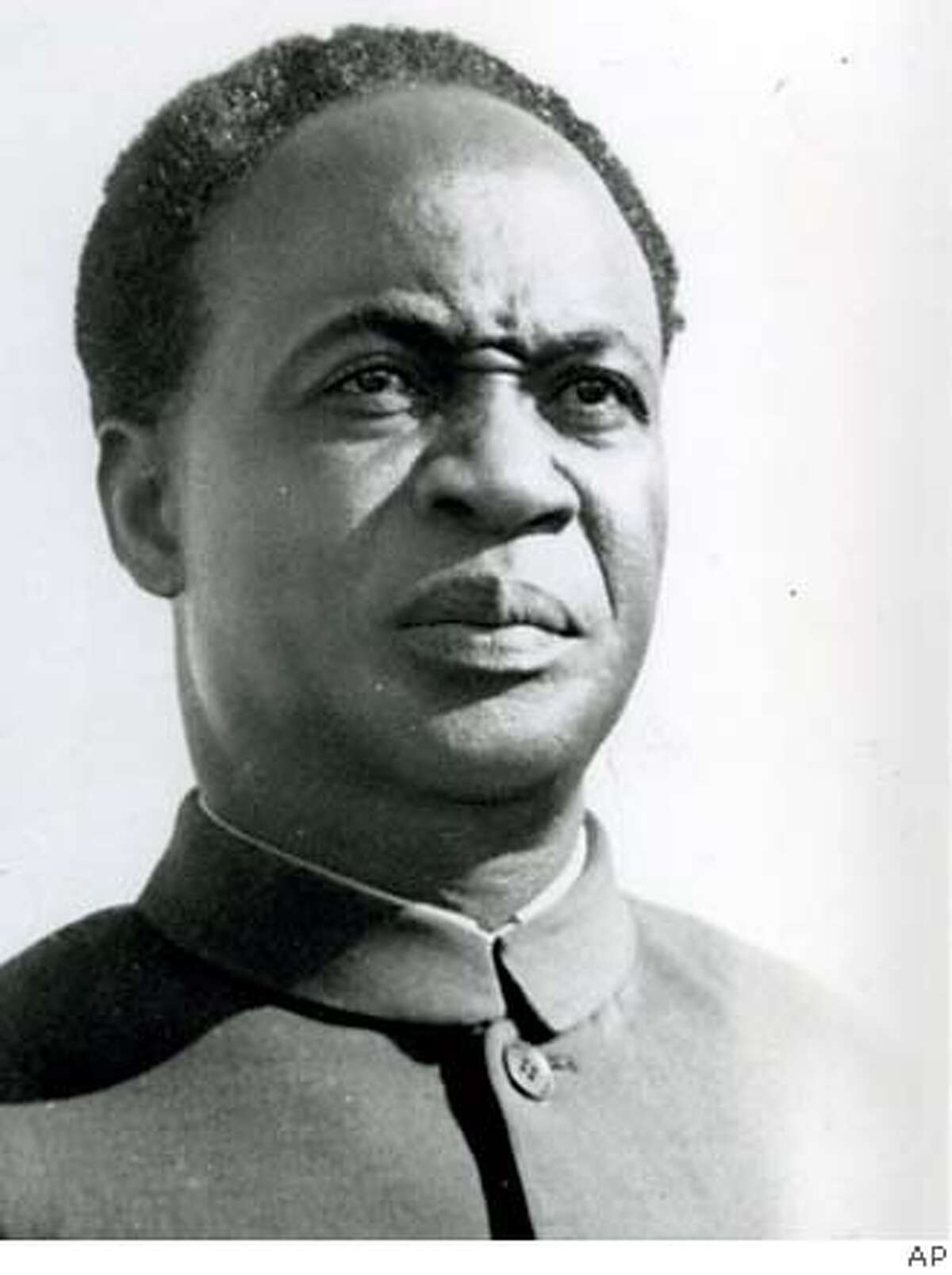 Kwame Nkrumah, president of Ghana in 1957, had seen racism firsthand in America. Associated Press file photo, 1963